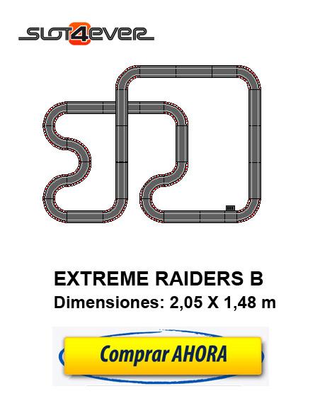 comprar circuito de scalextric compact ampliadoExtreme Raiders B
