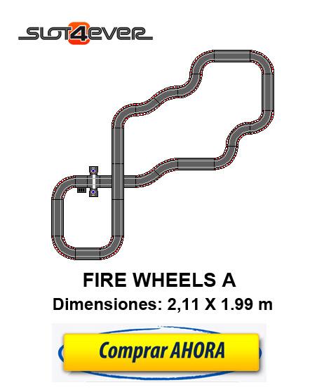 comprar circuito de scalextric compact ampliado fire wheels A