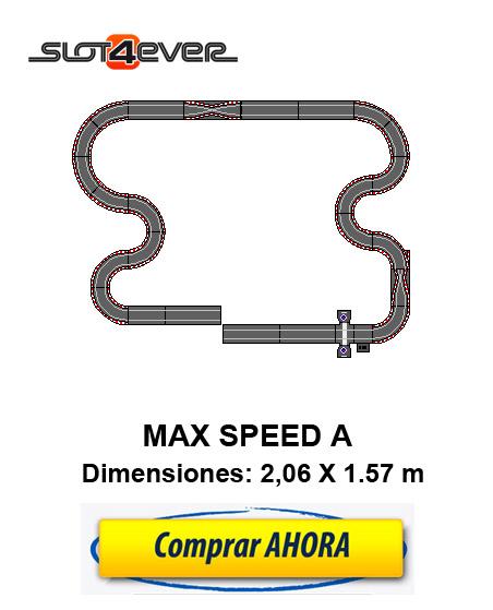 COMPRAR CIRCUITO DE SCALEXTRIC COMPACT AMPLIADO MAX SPEED A