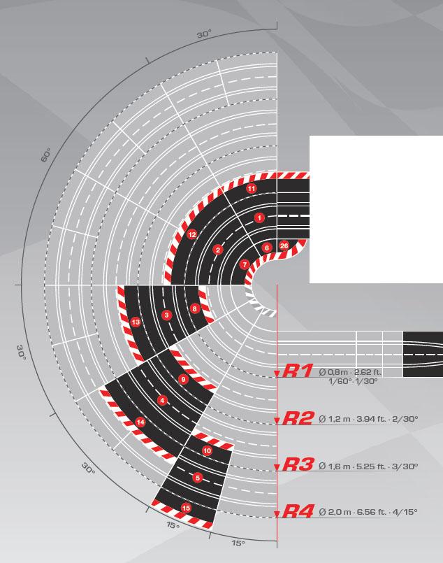 comprar pistas curvas planas carrera evolution