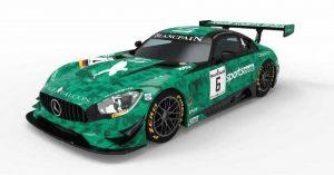 comprar COche de Scalextric Advance Mercedes AMG GT3 Sports Code