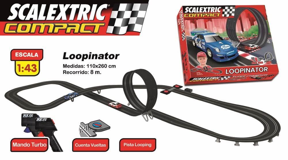 comprar Circuitos de Scalextric Compact LOOPINATOR precios