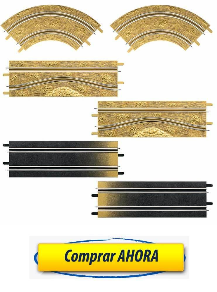 comprar accesorios decoracion Pack de ampliacion Rally pistas Carrera Go