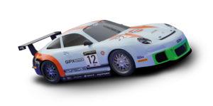 Coche de Scalextric Compact Porsche 911 GT3 Gulf