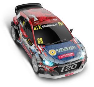 Coche de Scalextric Compact Hyundai I20 RX Champion