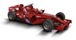 Coche de Scalextric Compact F1 rojo