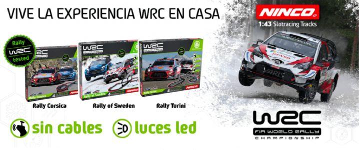 comprar circuitos Ninco WRC